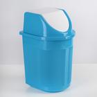 Контейнер для мусора 6 л, цвет МИКС