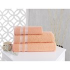 Полотенце Petek, размер 50х70 см, цвет абрикосовый, махра 380 г/м2 2143
