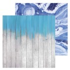 Фотофон двусторонний «Светлые доски», 45 × 45 см, переплётный картон, 980 г/м
