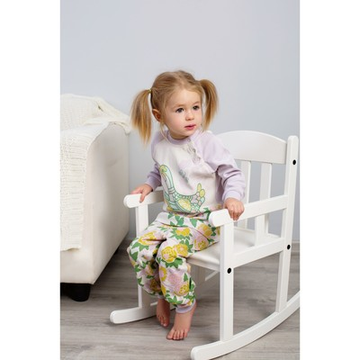 Пижама для девочки, рост 110 см, цвет сиреневый 171-245-14