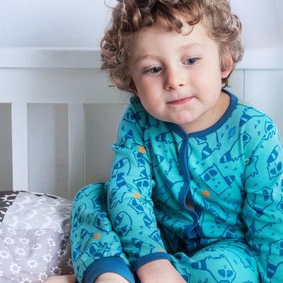 Комбинезон для мальчика, рост 92 см, цвет бирюзовый 172-046-34