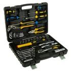 Набор инструмента TOPEX, 41 шт., трещотки, отвертки, ШГИ, молоток, ключи, головки, кейс