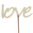 """Топпер """"love"""", с держателем"""