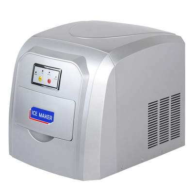 Льдогенератор Gastrorag DB-09, кускового льда (пальчики), 1.5 л, 10 кг/сутки, серебристый