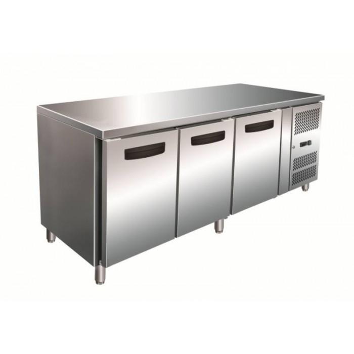 Морозильный стол GASTRORAG GN 3100 BT ECX, 450 л, -20 до -10°С, рабочая зона без борта