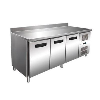 Морозильный стол GASTRORAG GN 3200 BT ECX, 450 л, -20 до -10°С, рабочая зона с бортом