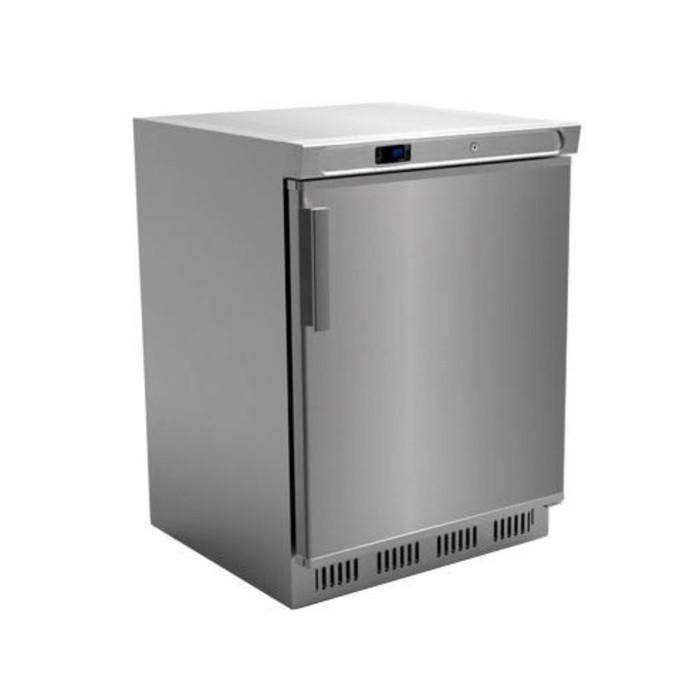 Морозильник Gastrorag SNACK HF200VS/S, -18°С, 129 л, серебристый