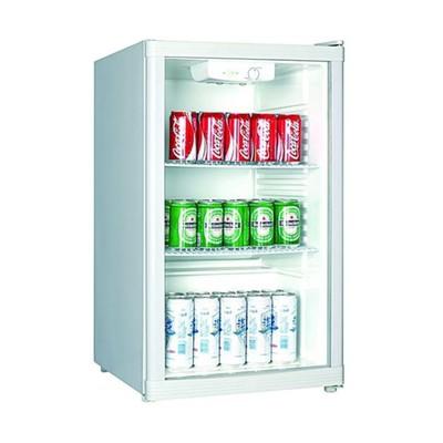 Холодильный шкаф Gastrorag BC1-15, витринного типа, +3 до +10°С, 115 л, белый