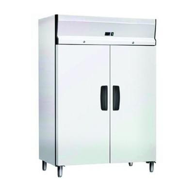 Холодильный шкаф GASTRORAG GN1200TNB, 600 Вт, 1173 л, -2 до +8°С, 6 полок-решёток, белый