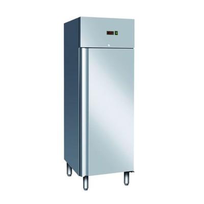 Холодильный шкаф Gastrorag GN650 TN, -2 до +8°С, 700 л, серебристый