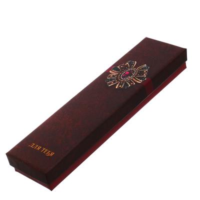 Коробочка под браслет «Роскошь бархата», 4,5 х 20 х 2,2 см