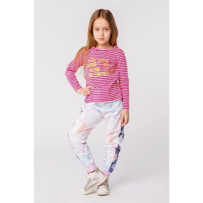 Брюки для девочки, рост 104 см, цвет розовый ZG 10257-P