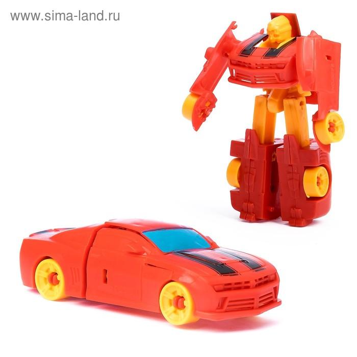 """Трансформер-робот """"Автобот"""", МИКС"""