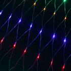 """Гирлянда """"Сетка"""" уличная УМС Ш:2 м, В:3 м, Н.С. 3W LED-384-220V, БЕЗ контр. МУЛЬТИ Уценка"""