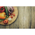 "Фотофон винил ""Свежие овощи"" 80х125 см"