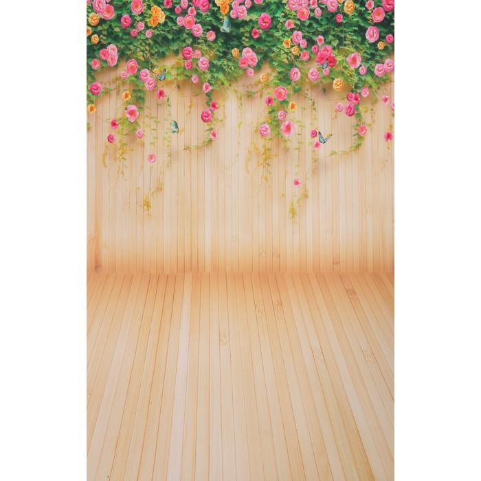 """Фотофон бумага """"Живая изгородь"""" стена+пол 80х125 см - фото 402883"""