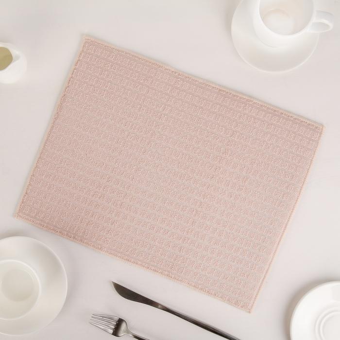 Коврик для сушки посуды 30×40 см, микрофибра, цвет бежевый