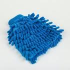 Варежка для уборки пыли и полировки TORSO, односторонняя, 17х13.5 см, МИКС