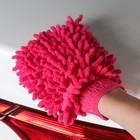 Варежка для уборки пыли и полировки TORSO, двухсторонняя, 17х13.5 см, МИКС