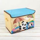"""Короб для хранения 38×25×26 см """"Панда"""""""