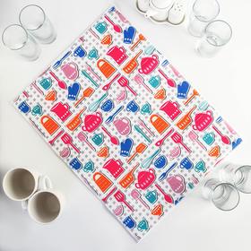 {{photo.Alt || photo.Description || 'Салфетка для сушки посуды Доляна «Кухня», 38×51 см, микрофибра'}}