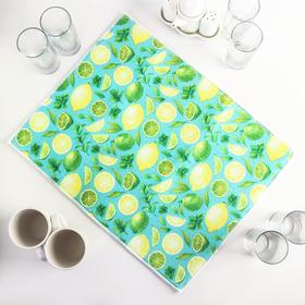 {{photo.Alt || photo.Description || 'Салфетка для сушки посуды Доляна «Лимоны», 38×51 см, микрофибра'}}
