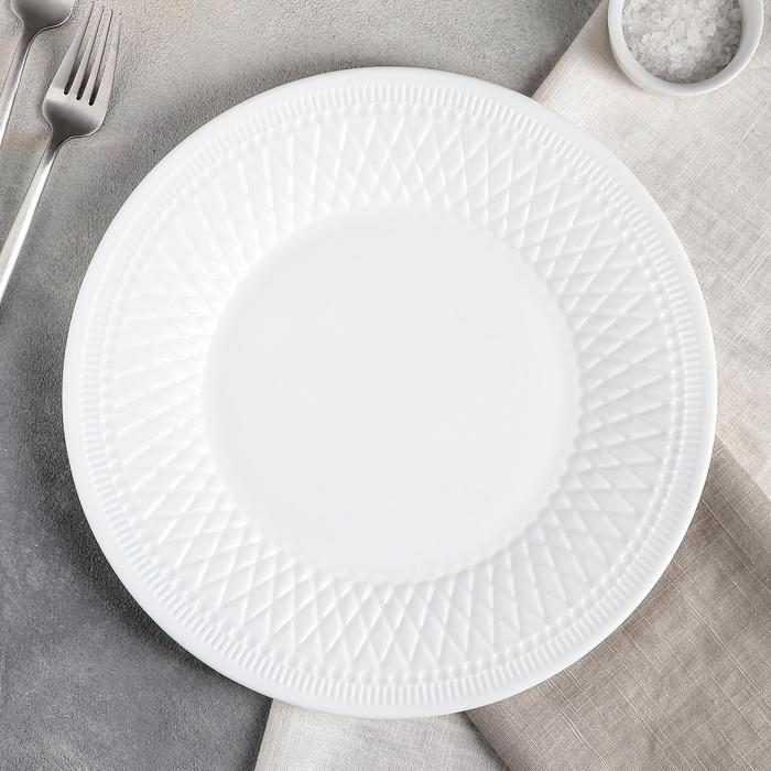 Тарелка обеденная (подставная) 28 см Alizee