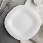 Тарелка десертная 19,5 см Carine Blanc - фото 308066891