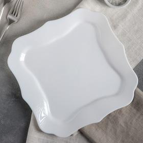 Тарелка обеденная 26 см Authentic White