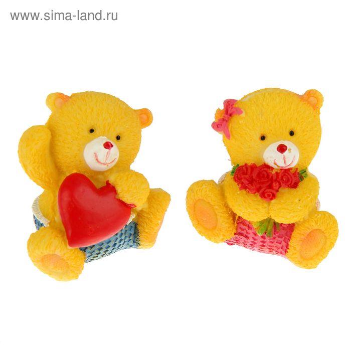 """Сувенир """"Медвежата милые"""" набор 12 шт."""