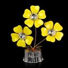 """Сувенир """"3 цветка с сердцевиной"""", ассорти"""