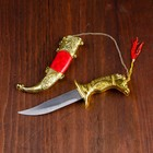 Gift knife,19 cm, handle in the shape of a horse head