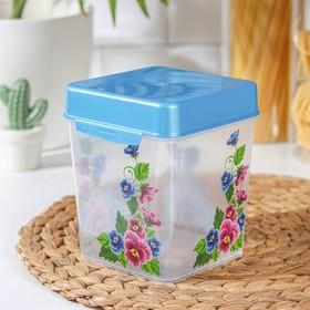Контейнер для сыпучих продуктов 1,3 л, цвет МИКС
