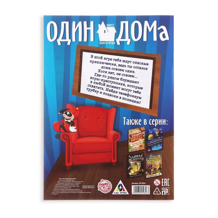 Квест «Один дома», книга игра