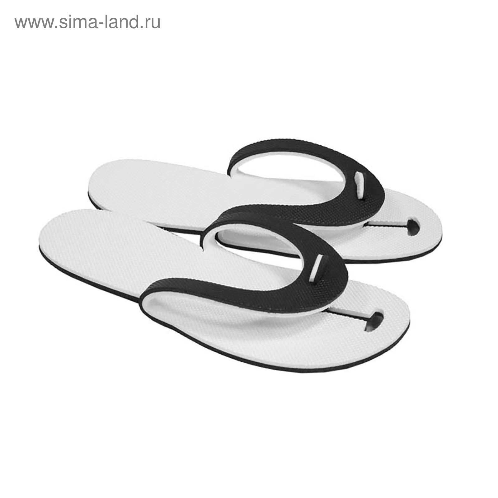 992bd7ce4281 Сланцы одноразовые для бани и сауны ЭВА 5 мм арт. 030-021, цвет МИКС,  размер 43,5