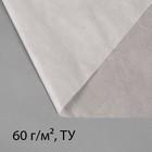 """Материал укрывной, 10 х 3.2 м, плотность 60, УФ, белый, """"Эконом"""""""
