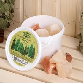 """Гималайская розовая соль """"Добропаровъ"""" с маслом пихты, колотая, 50-120мм, 2 кг"""