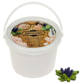 Гималайская розовая соль 'Добропаровъ' с маслом пихты, колотая, 50-120мм, 2 кг Ош