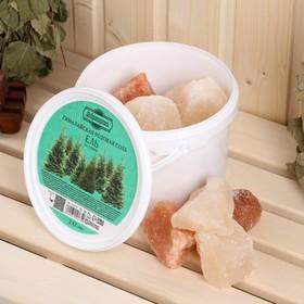"""Гималайская розовая соль """"Добропаровъ"""" с маслом ели, колотая, 50-120мм, 2 кг"""