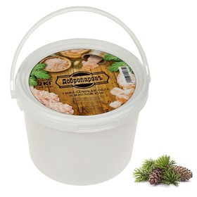 "Himalayan pink salt ""Dobromirov"" oil of spruce, chipped, 50-120mm, 2 kg"