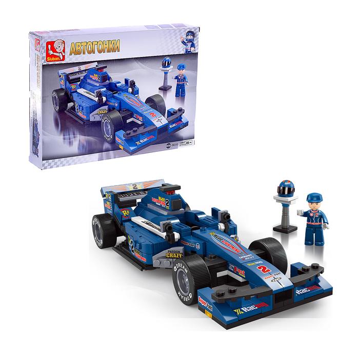 Конструктор «Формула: гоночный болид», 287 деталей