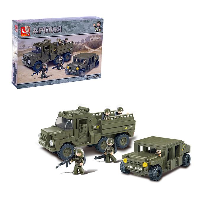 Конструктор «Боевой отряд», 379 деталей - фото 638741