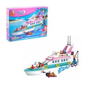 Конструктор «Розовая Мечта: яхта», 328 деталей