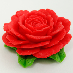 Силиконовая форма для мыла 'Роза английская' Ош