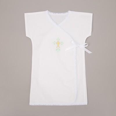 Крестильная рубашка для девочки, рост 86-92 (28), 1,5-2 года,100% хлопок, бязь