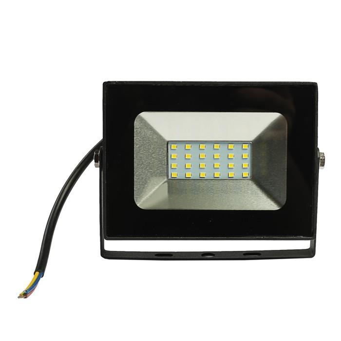 Прожектор светодиодный LLT СДО-5-30, 30 Вт, 230 В, 6500 К, 2250 Лм, IP65 - фото 4674
