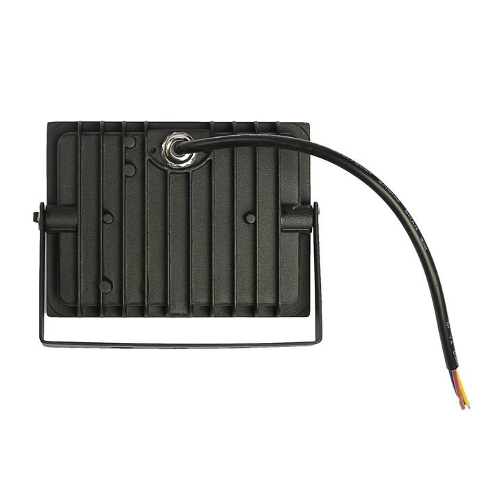 Прожектор светодиодный LLT СДО-5-30, 30 Вт, 230 В, 6500 К, 2250 Лм, IP65 - фото 4675