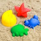Набор для игры в песке №63: 4 формочки