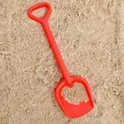 Лопатка №2, цвет красный, 40 см