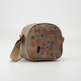 Bag children's Department with zipper, color orange